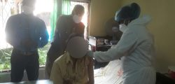 Piliyandala Mobile vaccination  for differently abled and elderly