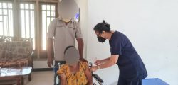 Gampaha District Mobile vaccination for the elderly and differently abled