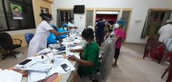 Vaccination at Dompe MOH at 11pm on 7/8/2021